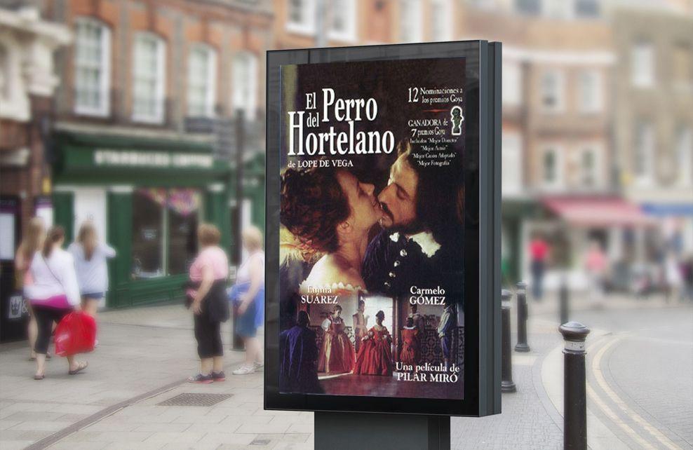 Pixys_Cartel de El Perro del Hortelano_Iberoamericana Films