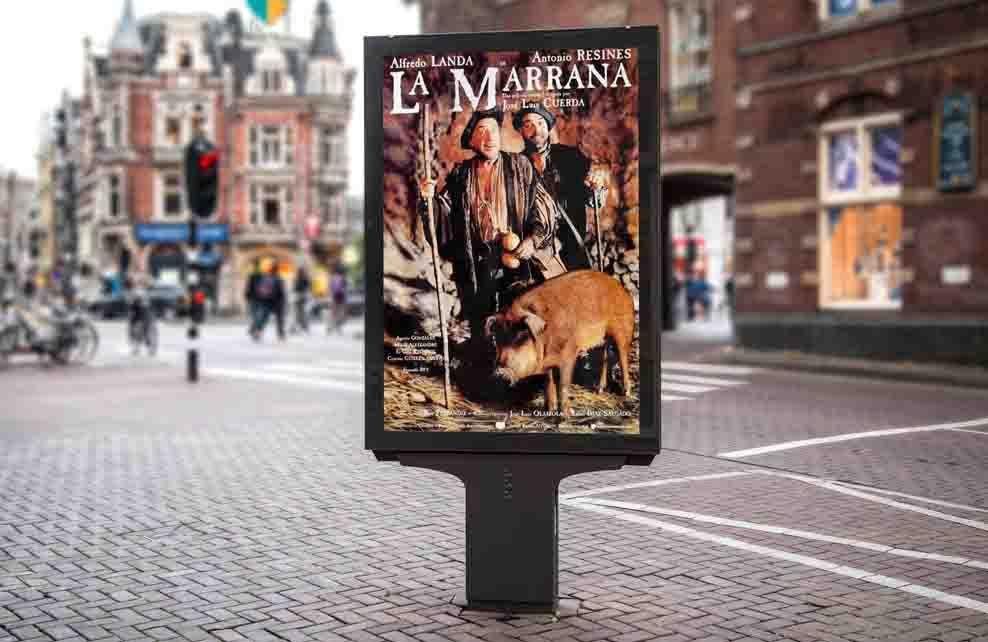cartel-pelicula-la-Marrana de Jose luis Cuerda