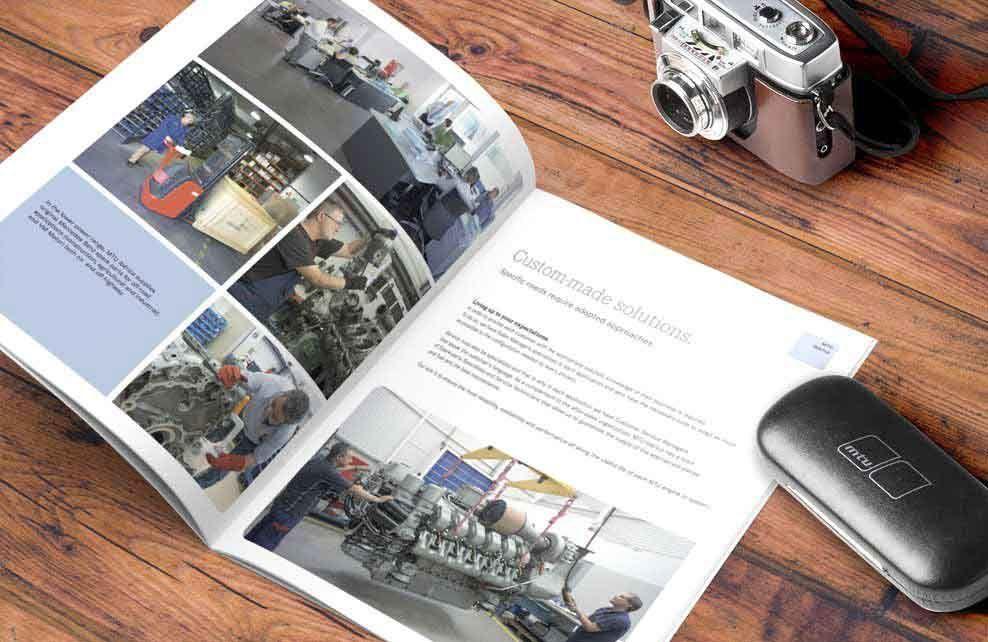 folleto corporativo de MTU Iberica - Taller